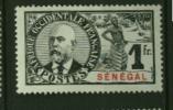 Senegal Palmiers Faidherbes Ballay  N° 44  Neuf  (*)  Cote Y & T  42,00 Euro Au Quart De Cote