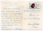 """Espagne -1968---Carte Postale """"SAN FELIU DE GUIXOLS"""" Avec Joli Timbre Au Verso""""J.O Grenoble 1968""""-cachet San Feliu - - 1931-Aujourd'hui: II. République - ....Juan Carlos I"""