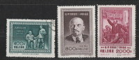 VR-China  1954   246 - 48  (30. Todestag Lenins)    Gestempelt O - Usados