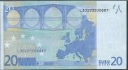 L FINLAND 20 EURO  E006 C2  TRICHET   UNC - EURO