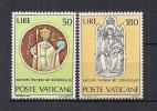 VATICANO     1972       MILLENNIO S.STEFANO       SASS. 513-514       MNH    XF - Nuovi