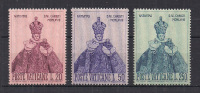VATICANO   1968 NATALE SASS. 464-466 MNH XF - Nuovi