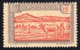 Cameroun Français 1927: N° 98** (YT134) / Avec Trace De Charnière Mais Gomme Coloniale / Centrage Courant / TB - Cameroun (1915-1959)