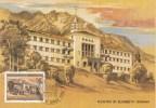 Liechtenstein - 3 Max.kaarten - Orden En Klösters - Schaan/Schellenberg/Balzers - M 868-870 - Abdijen En Kloosters