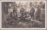 Allemagne 1917. Carte Postale, Photo. Soldats Allemands Jouant Aux Cartes - Playing Cards