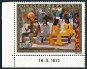POLYNESIE 1973 - Yv. PA 75 ** SUP Cdf Daté  Cote= 32,00 EUR - Ta Matete', Tableau De Gauguin ..Réf.POL22656 - Poste Aérienne
