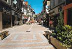 CPM SAINT AMAND MONTROND - RUE PIETONNE - Saint-Amand-Montrond