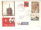 Carta De Japon A Dinamarca De 1961. - Storia Postale