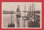 Carte Avec Bateaux à Voiles - Sailing Vessels