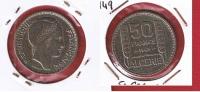 Algérie  --   50 Francs 1949  --   Km# 92   --    état  TTB - Algeria