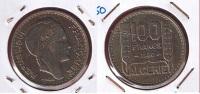 Algérie  --   100 Francs 1950  --   Km# 93   --    état  TTB - Algeria