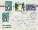 Madagascar 1976 Fiamarantshy Waterfall Labour Union Cover - Madagaskar (1960-...)