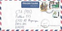 Madagascar 2010 Antananarivo China Cooperation Medical Postman 300 Ariary Overprint On Rice Cover - Madagaskar (1960-...)