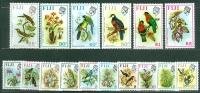 Fiji 1971-72 Birds And Flowers MNH** - Lot. 3922 - Fidji (1970-...)