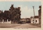 Aisne -02-boue  Rue De La Gare ,carte Colorisee - France