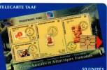 Telecarte TAAF 50U Neuve Bloc PHILEXFRANCE 99 - TAAF - Franse Zuidpoolgewesten