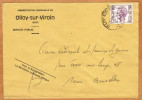 Enveloppe Brief Cover Administration Communale De Olloy-sur-Viroin - Belgique