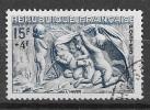 N° 862  FRANCE  - OBLITERE  - HIVER -  1949 - Usados