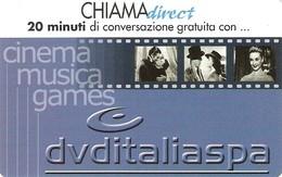 *CHIAMADIRECT - N.21 - DVDITALIA* - Scheda NUOVA (MINT) (DT) - Italia