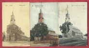 Waha - L´Eglise , Datant De L´an 1051 - 3 Cartes Postales Différentes ( Voir Verso ) - Marche-en-Famenne