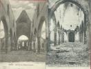 Wiers  - L'Eglise Détruite, Suite à L'incendie Du 31 Janvier 1910 - 2 Cartes Postales ( Voir Verso ) - Péruwelz