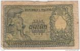 BANCONOTA 50 LIRE DI CRISTINA CAVALLARO PARISI - USURATA - [ 2] 1946-… : Repubblica