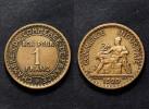 1 Franc 1920 Chambre De Commerce. Cu-Alu. Petite Tirage - Francia