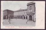 Italy Undivided Back Postcard Italia Cartolina Indivisa 1895-1904 Recanati Marche Palazzo Comunale Macerata - Macerata