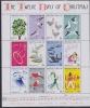 Christmas Island 1977 Christmas / The Twelve Days Of Christmas 12v In Sheetlet ** Mnh (25685) - Christmaseiland