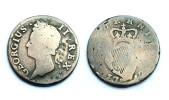 1/2 Penny 1742 Hibernia (Irlande) . Georgius II°. Cuivre / Copper - Ierland