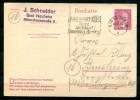 "German Empires,DR 1944 GS Mi. Nr.P 314 ""Bad Nauheim-Bensheim ""1 GS Used - Brieven En Documenten"