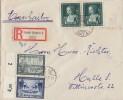 DR R-Brief Mif Minr.710,713,2x 700 Halle 19.9.39 - Deutschland