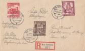 DR R-Brief Mif Minr.751,756,759 Bad Dürkheim 20.12.40 - Deutschland