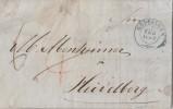 Württemberg Brief Göppingen 5.2.1851 Gel. Nach Heidelberg - Wuerttemberg