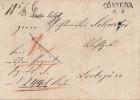 Brief Gel. Von Cönnern Am 8.3.1851 Nach Loebejün Ansehen !!!!!!!!!! - Deutschland