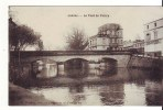 Cpa  Jonzac  Le Pont De Pierre - Jonzac