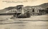 04 LES MEES Le Pont,suspendu, Sur La Durance,,,, - Frankreich