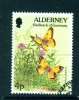 ALDERNEY  -  1994  Flora And Fauna Definitives  4p  Used As Scan - Alderney