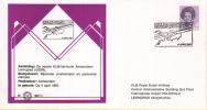Nederland – Zegelkoerier Gelegenheidsstempels – Eerste KLM Lijnvlucht Amsterdam-Leningrad - 4 April 1987 - 1 - Poststempel