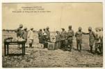 Extrême Sud Tunisien  - Poste Mobile De Télégraphie Sans Fil En Plein Désert.......Année 1917  - Tunisie  - Voir 2 Scans - Weltkrieg 1914-18