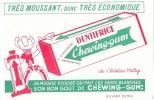 DENTIFRICE Chewing-gum - Buvards, Protège-cahiers Illustrés