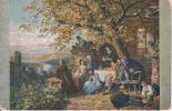 AK Schüz - Weinernte Am Neckar - Feldpost - Bauabtlg. I D. Abschnittsingenieurs Feldpost Nr. 85 - 1917  (19277) - Paintings