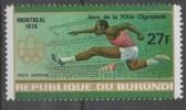 Burundi 1976 - Olimpiadi Di Montreal Olympic Games Corsa Ad Ostacoli Hurdles MNH ** - Burundi