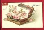 HAO-08  Bébé Dans Une Boite à Bijoux, Fleurs, Relief, Gaufré, Embossed, Affranchissement à Cheval 1907 - Babies