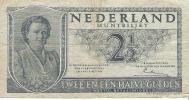 Netherlands - Pick 73 - 2 1/2  Gulden 1949 - F - 2 1/2 Gulden