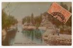URUGUAY MONTEVIDEO ZOO Villa Dolores Photo Vintage Original Ca1900 Postcard Cpa Ak (W4_1563) - Uruguay