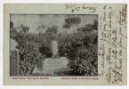 URUGUAY MONTEVIDEO ZOO  Villa Dolores Imp. El Siglo Japan Dog Grave Vintage Original Ca1900 Postcard Cpa Ak (W4_1584) - Uruguay