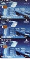 LOTE DE 3 TARJETAS TELEFONICAS DIFERENTES DE LIBANO (CHIP).