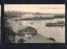 TARJETA POSTAL España CADIZ MUELLE Y DEPOSITOS Original Ca1900 Postcard Cpa Ak (W4_1606) - Cádiz