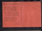 URUGUAY RARE EDUCACION POPULAR  RED PARTY TARJETA POSTAL  1918 POSTCARD Cpa Ak (W4_1622) - Uruguay